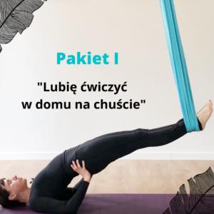 KURS ONLINE Joga & Pilates na chustach PAKIET I