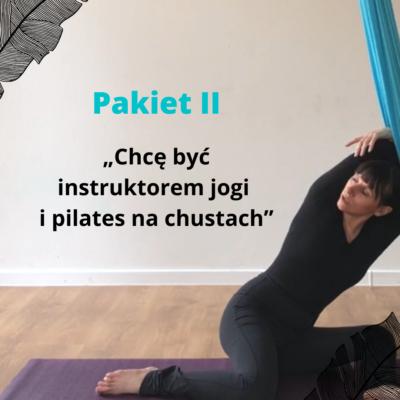KURS ONLINE Joga & Pilates na chustach PAKIET II