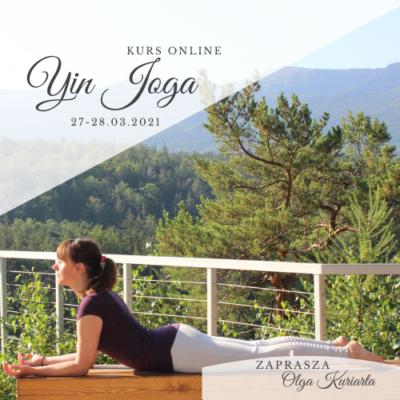 KURS ONLINE Yin Joga – technika i sekwencje